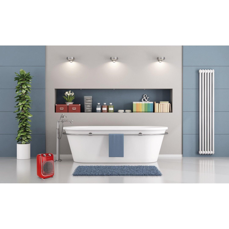 Soufflant oscillant pour salle de bain rouge THOMSON THSF2017 R ...