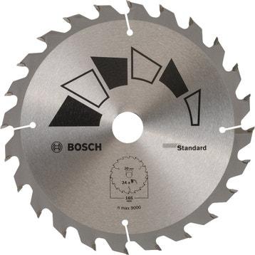 Lame coupe rapide et grossière BOSCH 165 mm 24 dents scie circulaire  standard 35ba2d51d28c