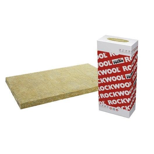 Panneau en laine de roche alpharock rockwool for Epaisseur laine de roche comble