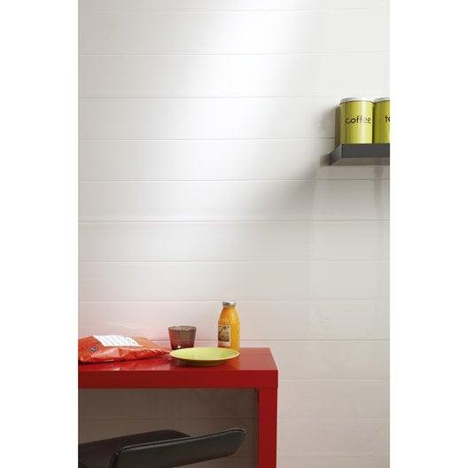 lambris pvc et accessoires parquet plancher et lambris leroy merlin. Black Bedroom Furniture Sets. Home Design Ideas