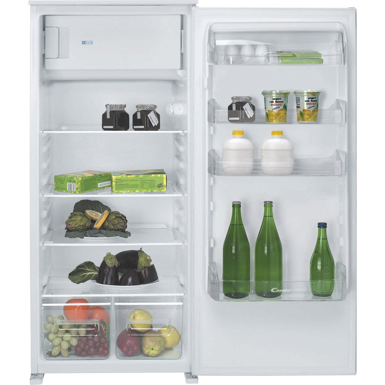 réfrigérateur intégrable candy cfbo2150e   leroy merlin