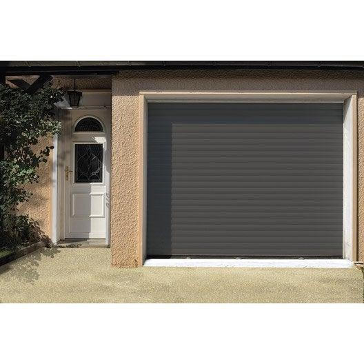 Porte de garage enroulement artens x cm for Porte de garage 500 x 200