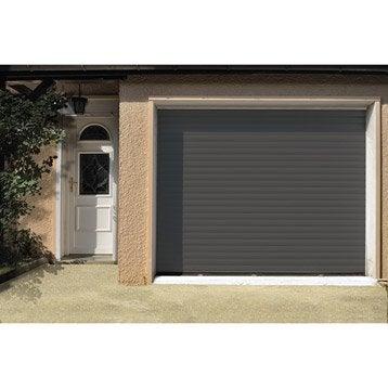 Porte de garage à enroulement ARTENS H.200 x l.240 cm