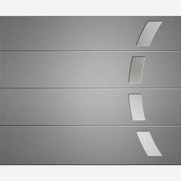 Porte de garage porte de garage sur mesure porte for Porte de garage sectionnelle artens 200 x 240 cm