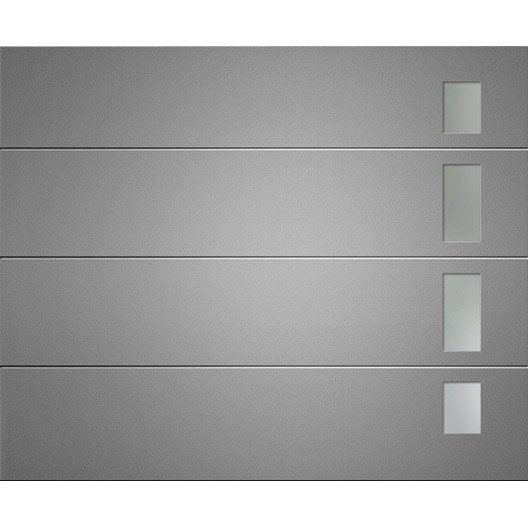 Porte de garage sectionnelle austin artens x for Porte de garage sectionnelle artens 200 x 240 cm