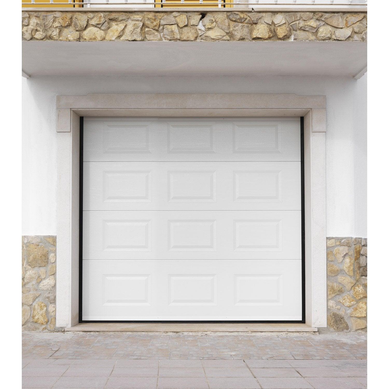 Good Porte De Garage Artens H X L Cm With Hublot Porte De Garage Leroy  Merlin