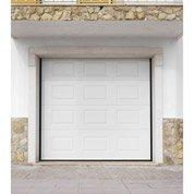 Porte de garage sectionnelle motorisée Palma ARTENS, à cassette, 200 x 240cm