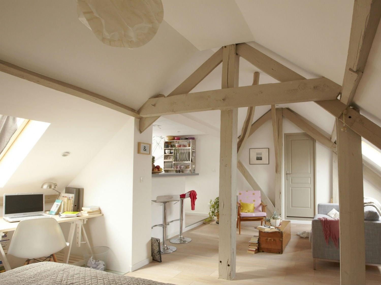 une mezzanine chambre dans le salon leroy merlin. Black Bedroom Furniture Sets. Home Design Ideas