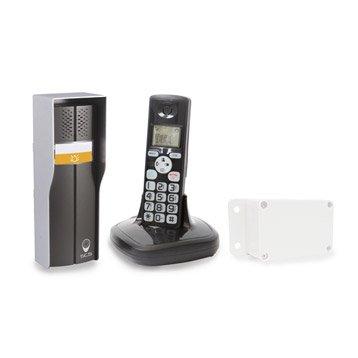 interphone et visiophone motorisation portail et volet interphone et sonnette leroy merlin. Black Bedroom Furniture Sets. Home Design Ideas