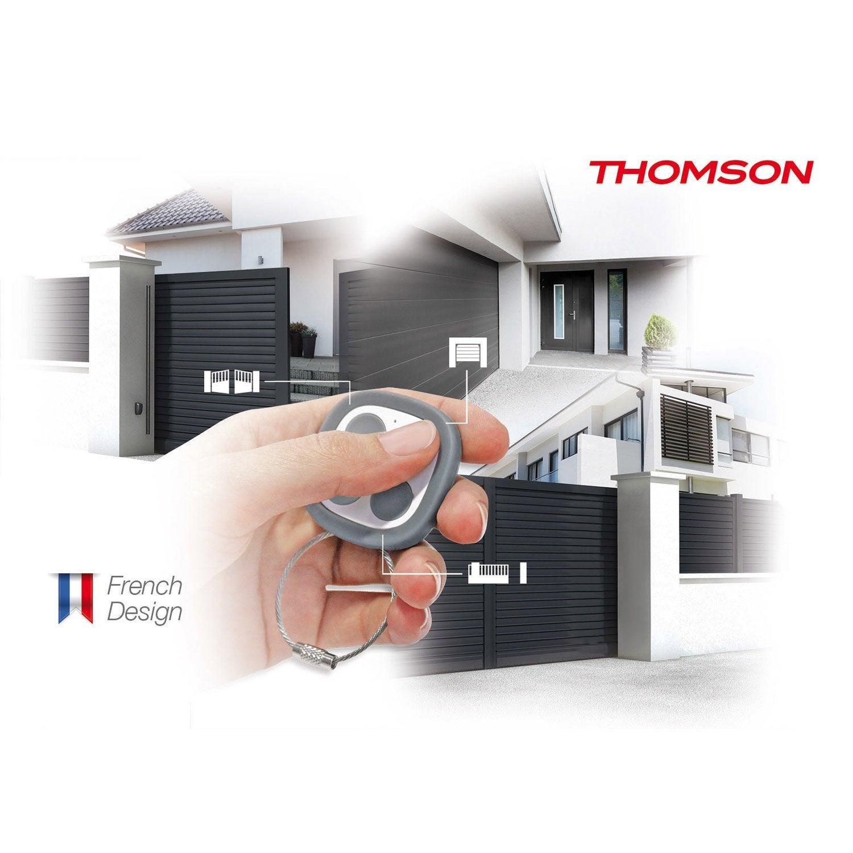 Télécommande universelle pour tout type de motorisation, THOMSON 433/868mhz