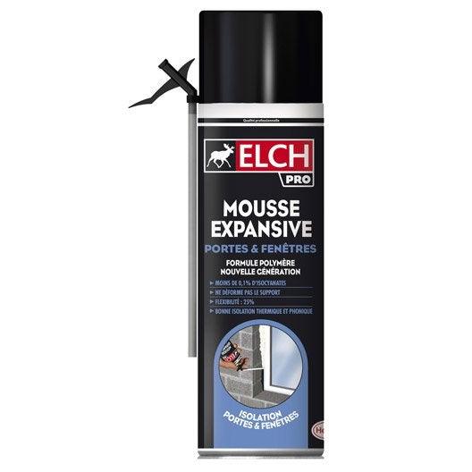 Mousse expansive power isole elch 500 ml leroy merlin - Mousse expansive utilisation ...