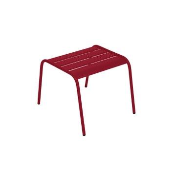 Table Basse FERMOB Monceau Carree Piment 2 Personnes