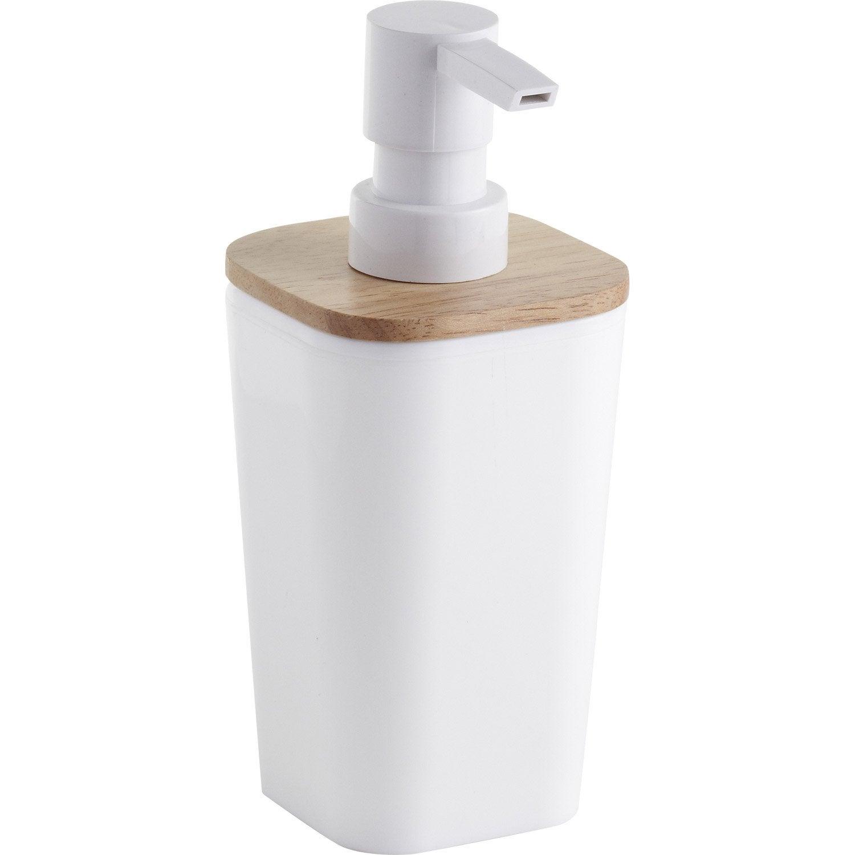 Distributeur de savon plastique Scandi, white n°0