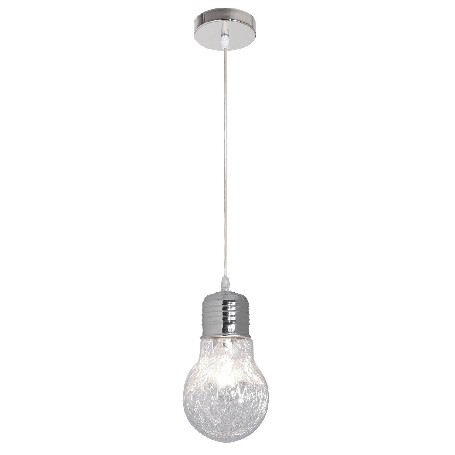 Suspension luminaire 1 ampoule