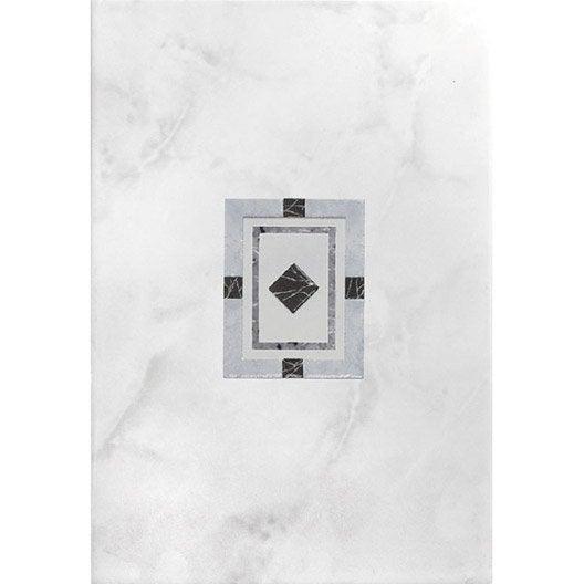 Panneau de douche jamaica gris 25x36 5 cm for Panneau de douche leroy merlin