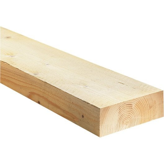 Bastaing solive sapin pic a trait 63x175 mm 6 m chx2 leroy merlin - Lambourde leroy merlin ...