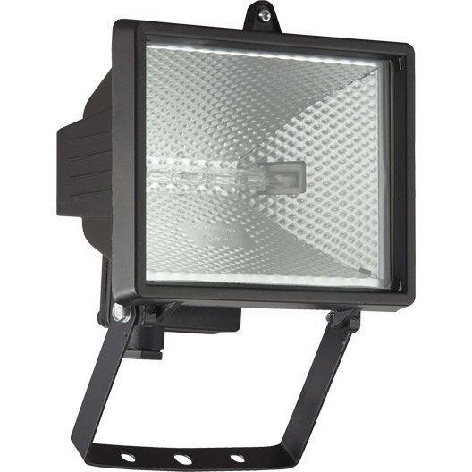 projecteur 224 fixer ext 233 rieur tanko r7s 118 mm 400 w 8550 lm noir leroy merlin