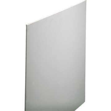 Plaque de plâtre NF 2.6 x 1.2 m, BA13, entraxe 60 cm