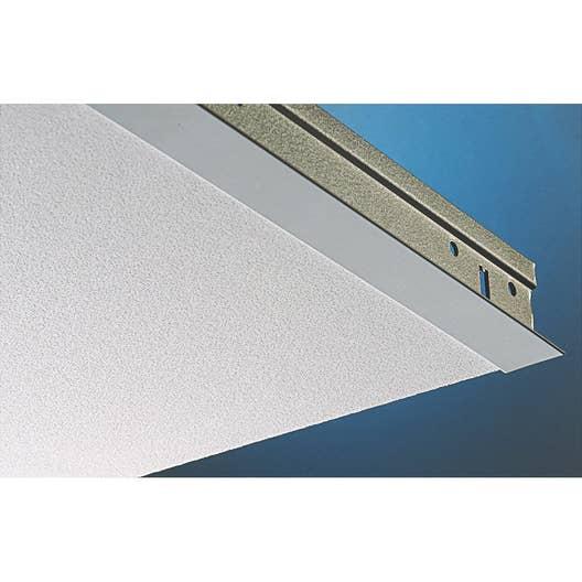 Plaque plaza pixel blanc 60x60 cm leroy merlin - Plaque isolante pour plafond ...