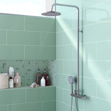 emejing carrelage salle de bain vert deau ideas - yourmentor.info ... - Faience Salle De Bain Vert