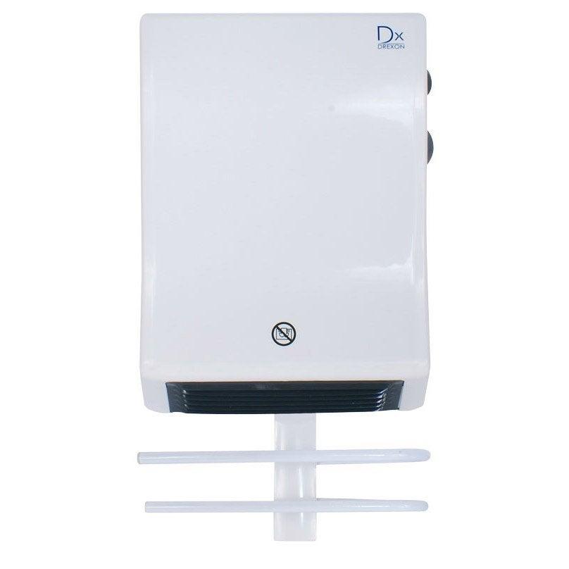 Radiateur soufflant salle de bain fixe lectrique drexon Radiateur electrique salle de bain
