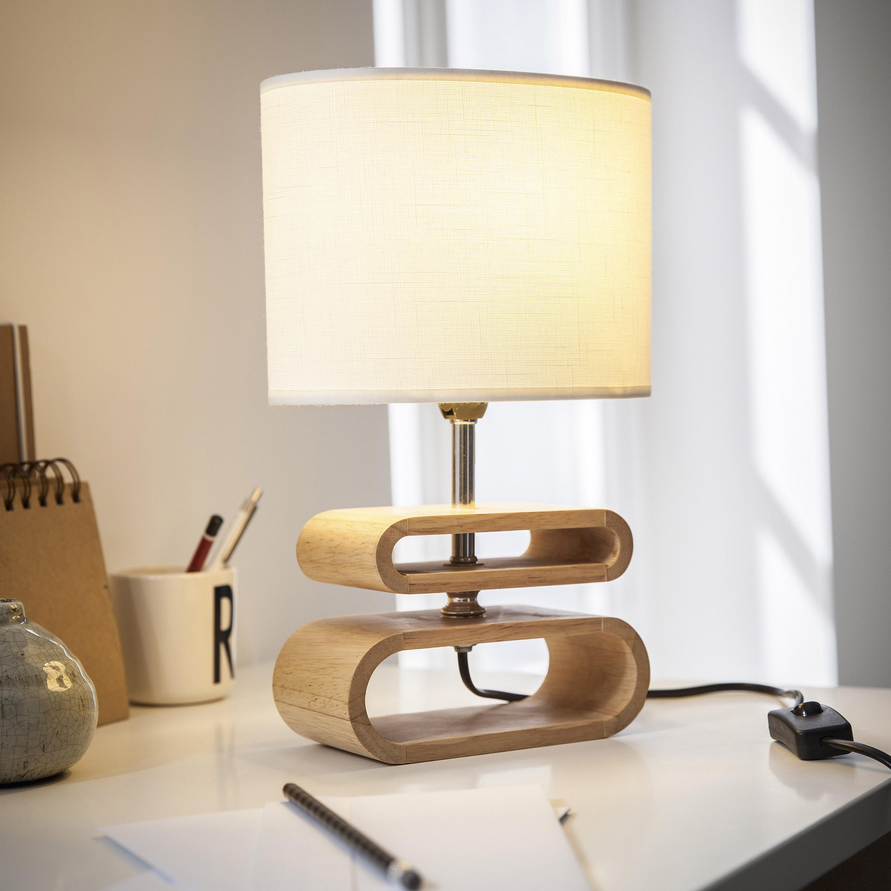 Lampe, e14 Itto COREP, lin blanc, 40 W