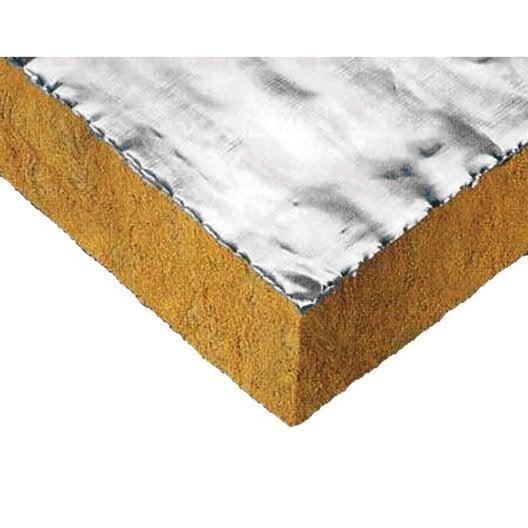 Panneau en laine de roche fireplace paroc r leroy merlin - Laine de verre humide ...