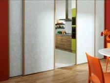Comment installer des portes de placard coulissantes en vid o - Comment installer des portes coulissantes ...
