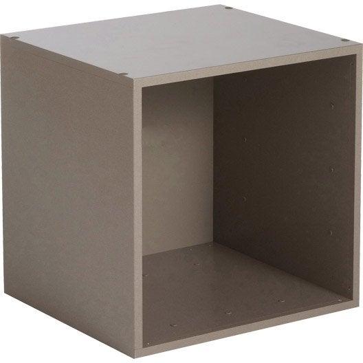 etag re 1 case multikaz taupe x x cm. Black Bedroom Furniture Sets. Home Design Ideas