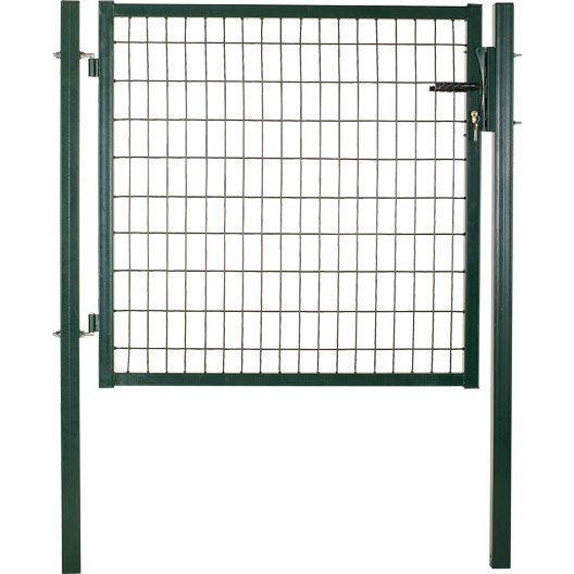 Portillon soud standard maille h 100 x l 50 mm for Dimension portillon standard