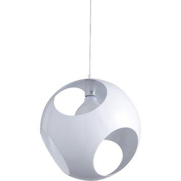 Suspension Contemporain Kochi métal blanc 1 x 60 W INSPIRE
