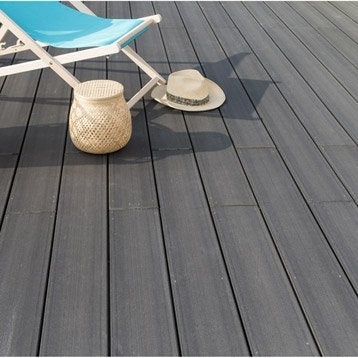Lame bois pour terrasse et jardin dalle et lame bois pour terrasse et jardi - Lame de volet bois leroy merlin ...