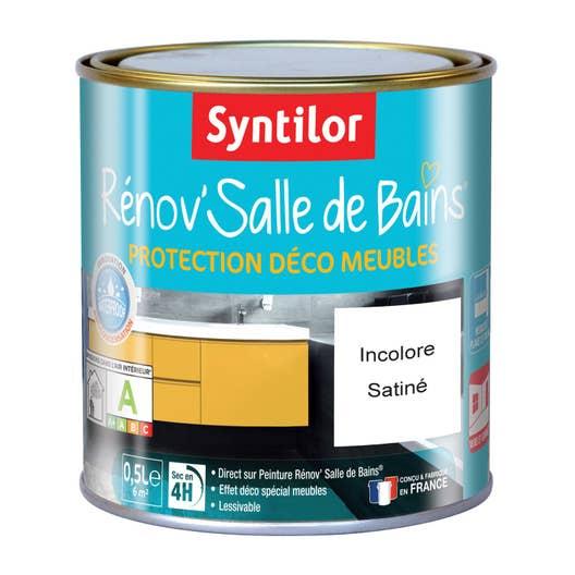 Protecteur R Nov Salle De Bains Syntilor Incolore 0 5 L Leroy Merlin