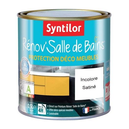 protecteur rénov'salle de bains syntilor, incolore, 0.5 l | leroy
