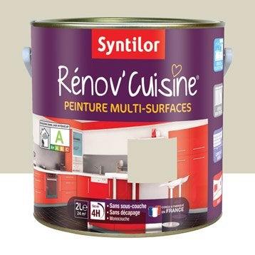 Peinture pour meuble cuisine et bain peinture cuisine et bain leroy merlin - Peinture renov cuisine ...
