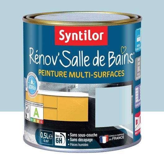 Peinture R Nov 39 Salle De Bains Syntilor Bleu Mosa Que 0 5