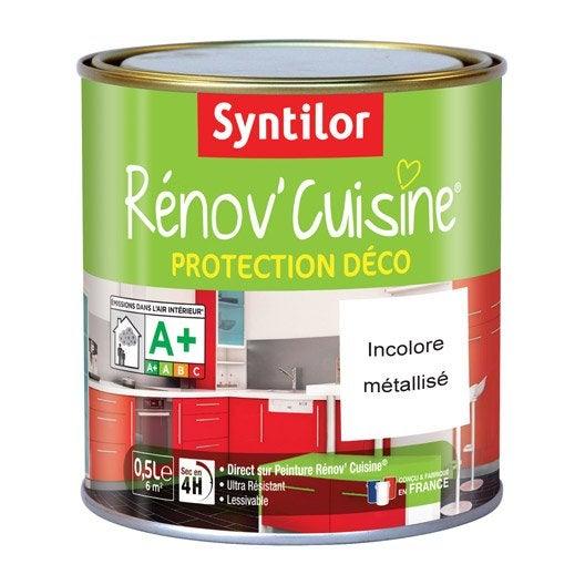Protecteur r nov 39 cuisine syntilor incolore 0 5 l leroy for Peinture renov cuisine