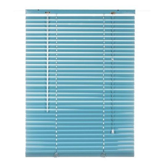 Store v nitien aluminium bleu atoll n 2 x cm leroy merlin Store bois leroy merlin