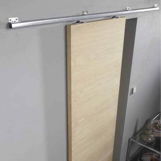 rail coulissant tango artens pour porte de largeur 93 cm maximum leroy merlin. Black Bedroom Furniture Sets. Home Design Ideas