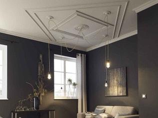 comment poser des corniches et des rosaces leroy merlin. Black Bedroom Furniture Sets. Home Design Ideas