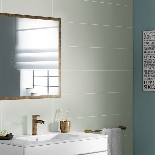 carrelage salle de bain vert d eau elegant couleur salle de bains u ides sur le carrelage et la. Black Bedroom Furniture Sets. Home Design Ideas