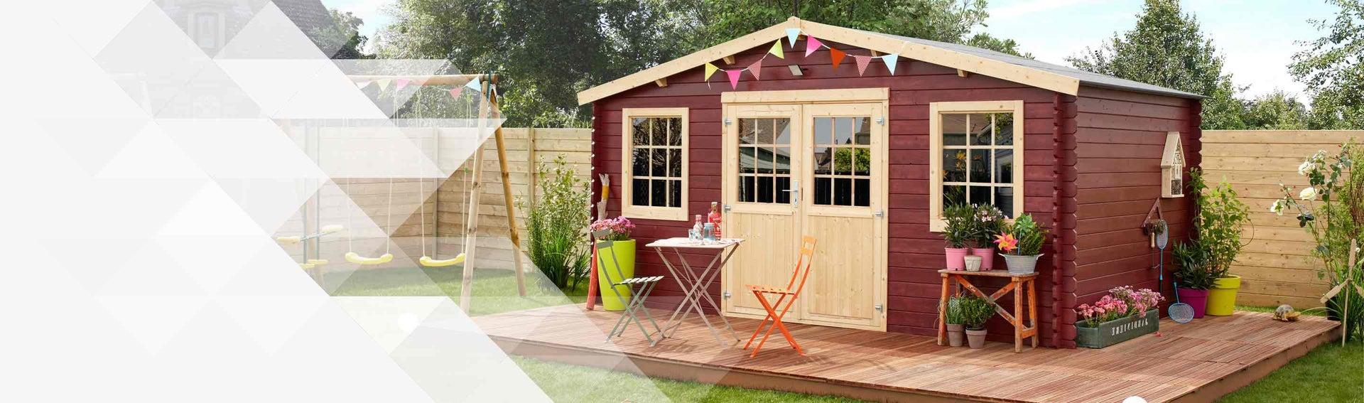 Grande Cabane De Jardin Pas Cher abri de jardin, cabane, chalet, kiosque, garage | leroy merlin