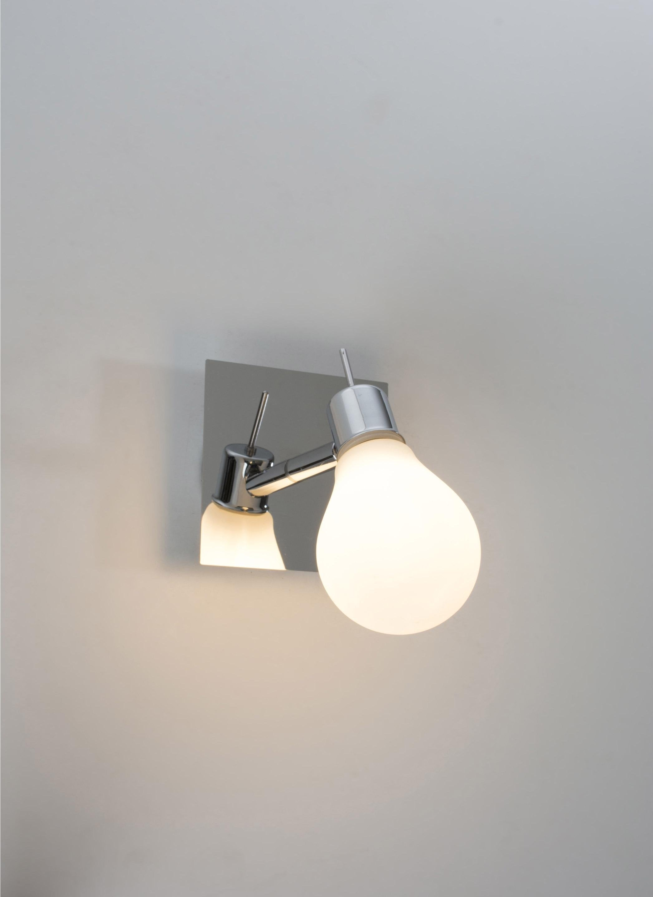 Applique Edison, LED 1 x 3.5 W, G9 blanc chaud