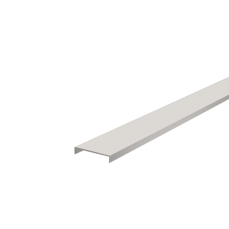 Nez De Cloison En Aluminium Blanc 54x10mm 2m60