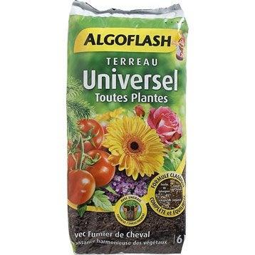 Terreau universel ALGOFLASH, 6 l