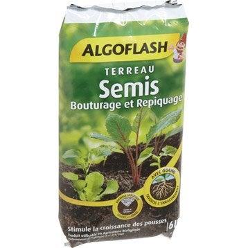 Terreau semis ALGOFLASH, 6 l