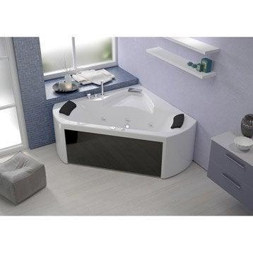 Baignoire baln o baignoire baln o spa et sauna leroy merlin - Salle de bain balneo ...