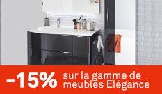 -15% sur la gamme de meubles Elégance