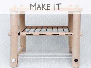 DIY : Créer un tabouret en bois et cordages