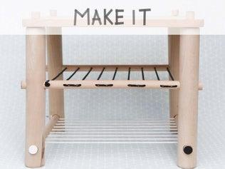 Créer un tabouret en bois et cordages